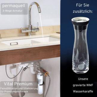 Wasserfilter Wasserhahn Vital premium und permaquell wassershop