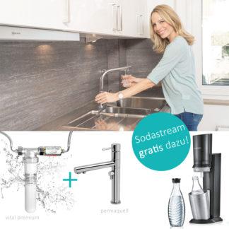 Trinkwasserfilter Wasser energetisieren Sodastream