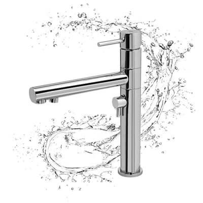 3-Wege-Wasserhahn 3-Wege-Armatur Küche Spüle Wasserhahn perma-trade