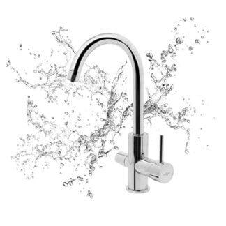 Wasserfilter für den Wasserhahn 3-Wege-Wasserhahn 3-Wege-Armatur Design wassershop